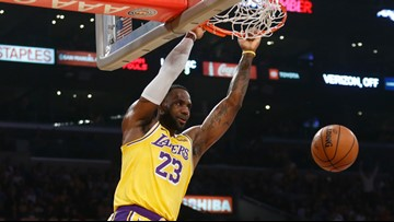 LeBron James becomes first NBA player to record a triple-double vs. every team