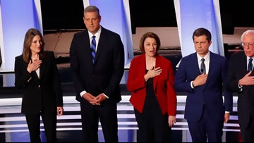 US Rep. Tim Ryan: Not placing hand on heart for anthem before debate wasn't protest