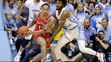 Duane Washington, No. 6 Ohio State beat No. 7 North Carolina 74-49