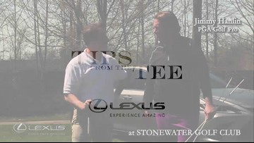 Lexus Tips From The Tee: Slicing