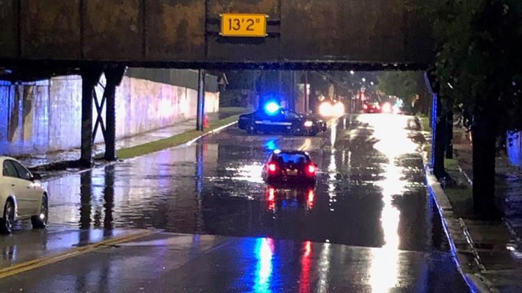 Cleveland flooding