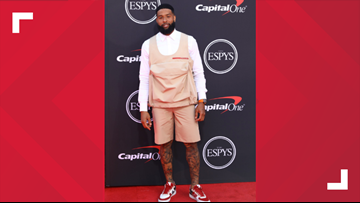 Social media reacts to whatever Cleveland Browns wide receiver Odell Beckham Jr. was wearing at the ESPY Awards