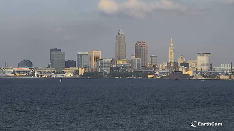 Downtown Cleveland on August 16, 2019