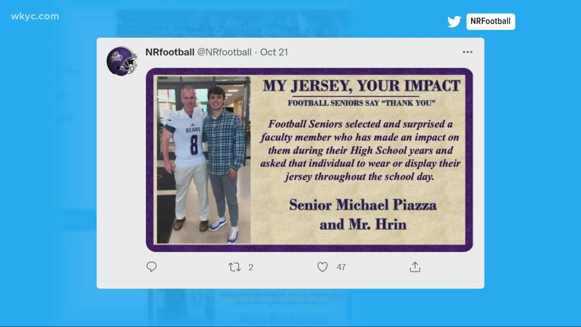 Show Us Something Good: New Jersey football players take part in