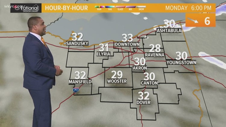FORECAST | Chilly, cloudy & scattered lake effect snow