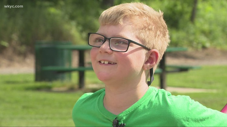 Akron boy recovers from years-long battle with leukemia