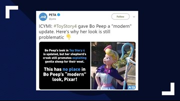 PETA wants Disney to change Bo Peep's 'problematic' look in 'Toy Story 4'