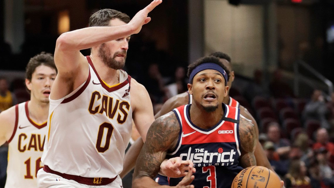 Bradley Beal scores 36 as weary Washington Wizards down Cleveland Cavaliers 124-112