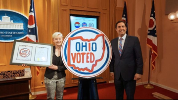Ohio selects design for new 'I voted' sticker