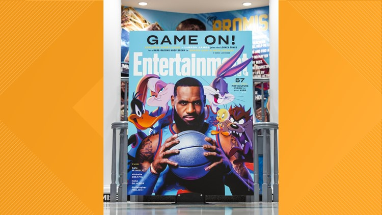 LeBron James surprises I Promise School with first look at Space Jam: A New Legacy Tune Squad