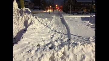 How snowy sidewalks could pose dangers for kids