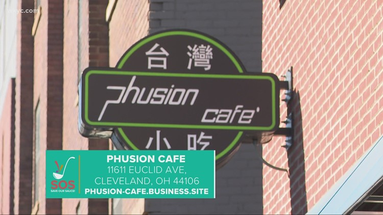 Phusion Cafe in Cleveland: 'Save our Sauce' campaign