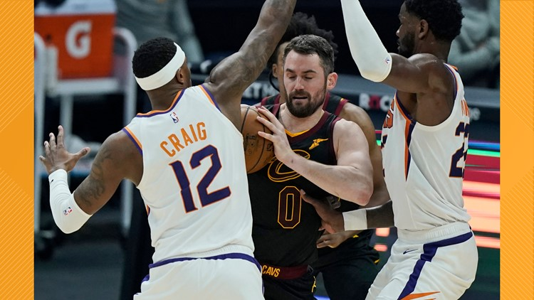 Cleveland Cavaliers' season-ending slide continues with 7th straight loss, 134-118 to Phoenix Suns in OT