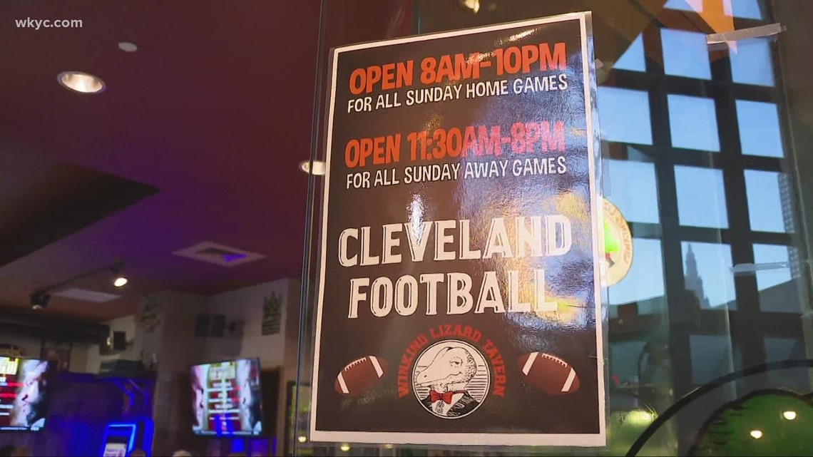 Cleveland businesses look forward to the return of Browns football