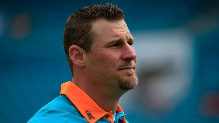 Former Miami Dolphins interim coach Dan Campbell 3