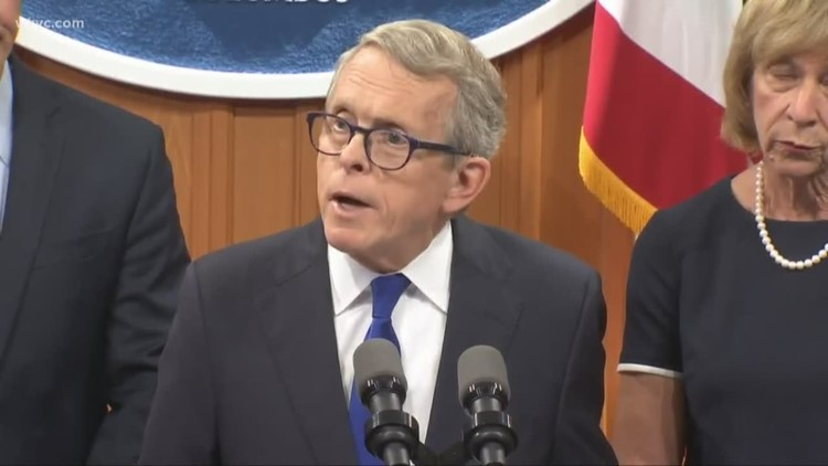 Ohio Gov. Mike DeWine introduces new 'Hands-Free' legislation aimed at drivers who use their cell phones