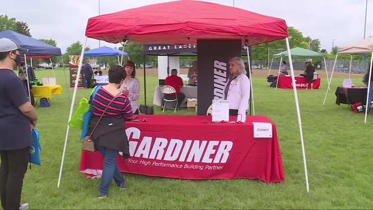 Solon holds 'Job Fair in the Park' to help fill hundreds of open positions