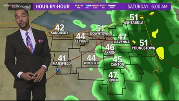 7 p.m. weather forecast for Oct. 11, 2019