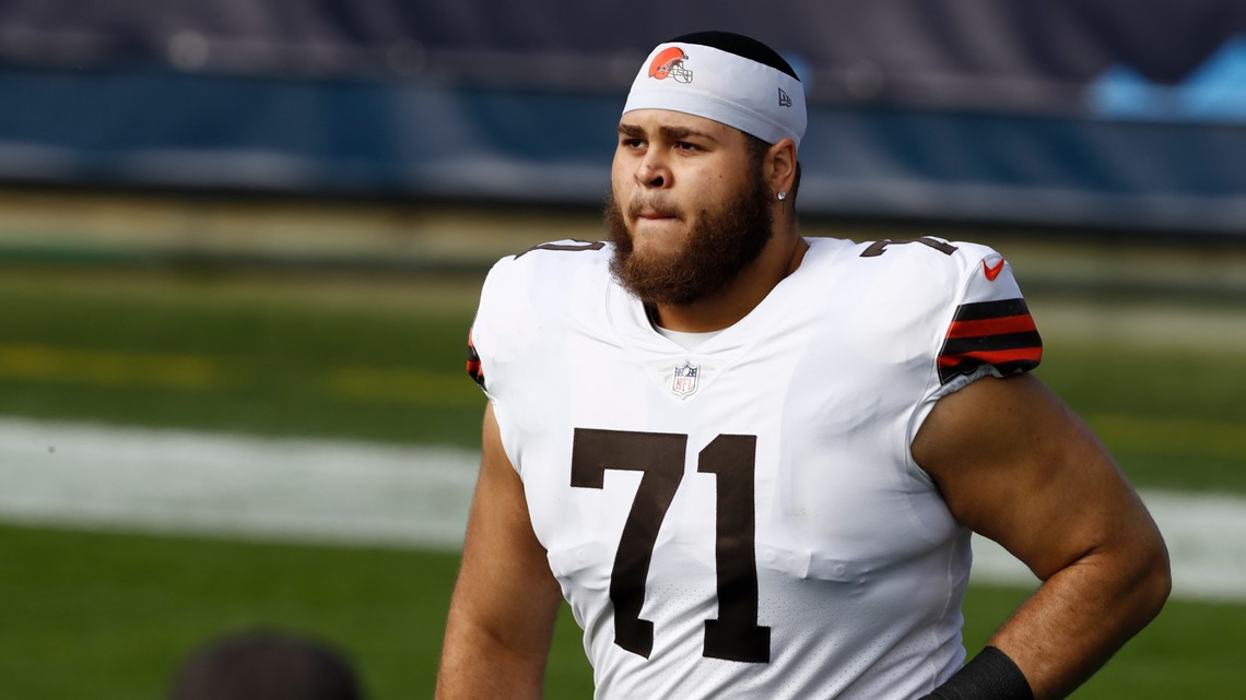 Cleveland Browns left tackle Jedrick Wills Jr. to miss Sunday's game due to unknown illness