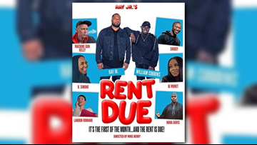 Cleveland artist, entrepreneur Ray Jr. releases trailer for new movie 'Rent Due' featuring star-studded cast