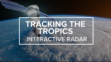Tracking the Tropics: Interactive radar to follow the storm