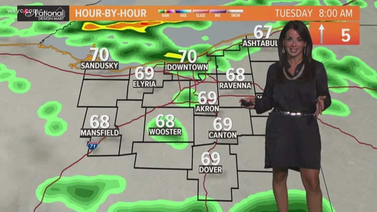 Morning weather forecast for Northeast Ohio: August 13, 2019