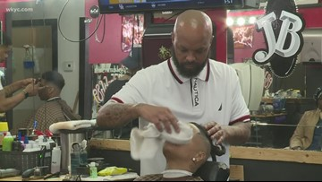 Barber shop on Cleveland's east side rewards straight A's with haircuts, wisdom