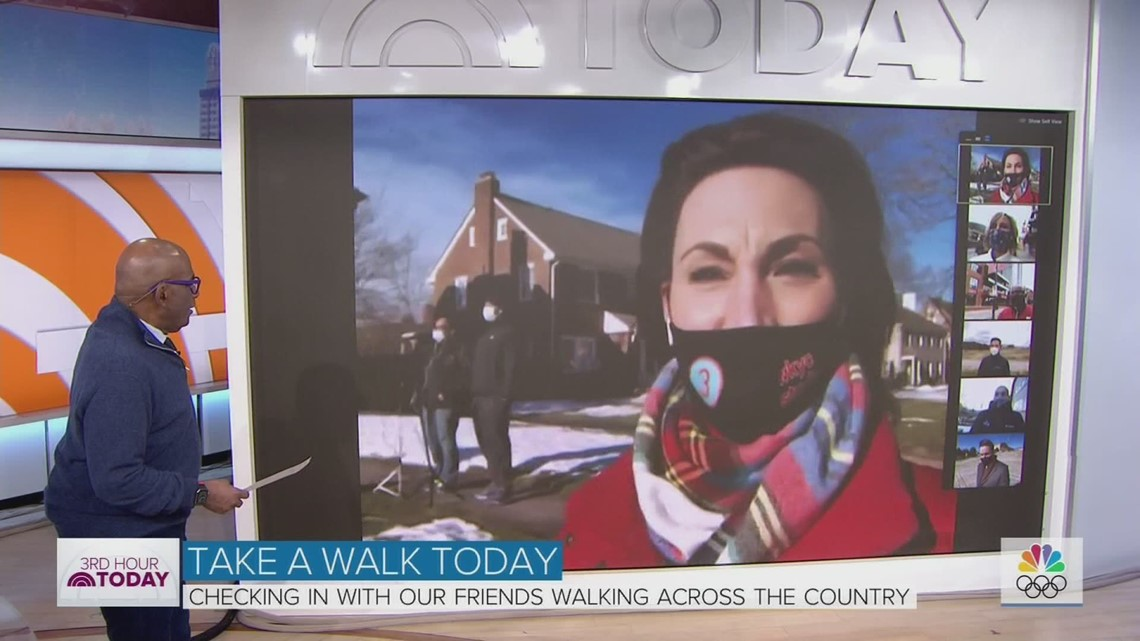 Al Roker gets big surprise from 3News' Betsy Kling on NBC's 'Today'