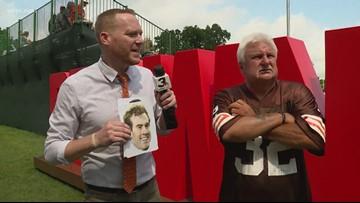 Mike Polk Jr. plays 'Name that Cleveland Browns quarterback!'