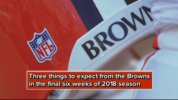 Three things to expect from Cleveland Browns in final six weeks of 2018 season
