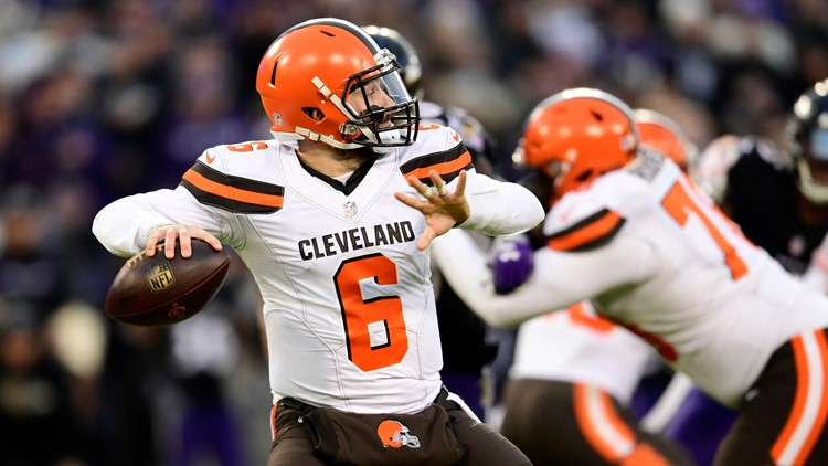 9ed8c5be5268 Watch  Baker Mayfield s top five moments from rookie season with Browns