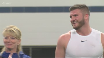 Keystone's C.J. Conrad looking forward to the NFL Draft