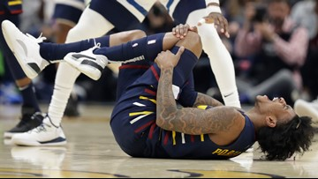 Kevin Porter Jr Suffers Knee Injury In Cleveland Cavaliers 118