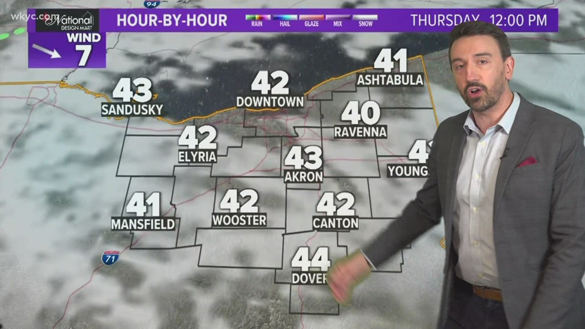 How much longer will the snow last in Northeast Ohio | April 21, 2021