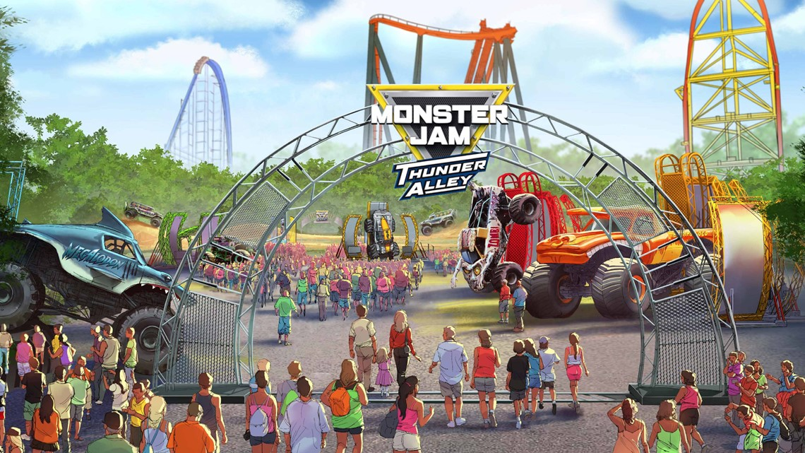 New Cedar Point Ride 2020 Cedar Point reveals surprise new attraction for 2019: Monster Jam
