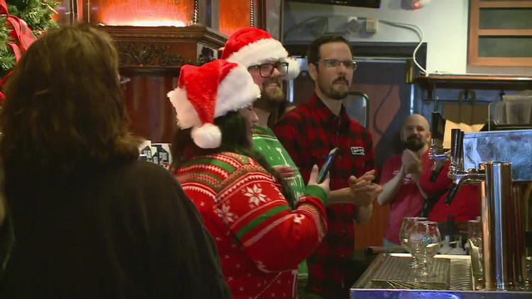 Christmas Ale is back! Great Lakes Brewing Company holds First Pour celebration