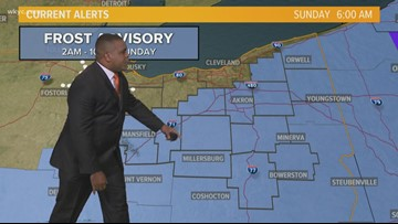 Morning Weather Forecast for Northeast Ohio for Sunday October 13