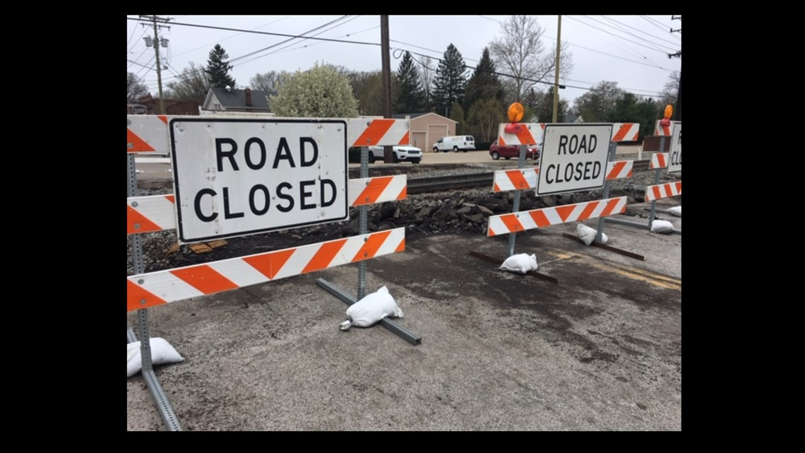 Drivers to see road closures as railroad crossings repaired