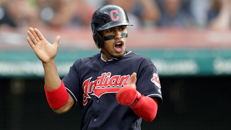 Francisco Lindor Houston Astros-Cleveland Indians Baseball