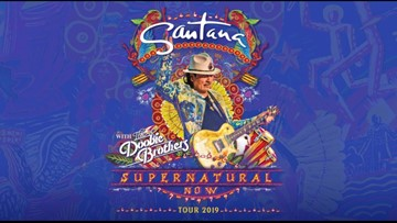 Santana bringing 'Supernatural Now' tour to Blossom this summer