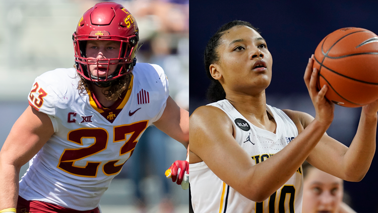 Brecksville native Mike Rose, Gilmour grad Naz Hillmon named Male, Female Collegiate Athletes of the Year at Greater Cleveland Sports Awards