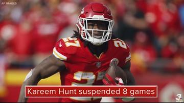 Cleveland Browns RB Kareem Hunt suspended 8 games