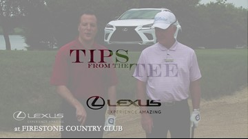 Lexus Tips from the Tee: How to hit a shot out of the fairway bunker