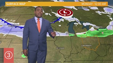 Midday Weather Forecast for Northeast Ohio for Sunday, November 10