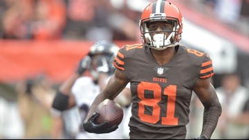 Cleveland Browns WR Rashard Higgins inactive vs. New York Jets
