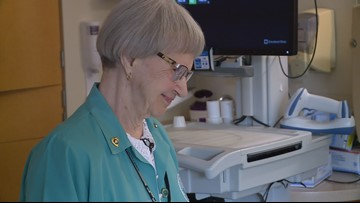 92-year-old enters 60th year as Fairview Hospital volunteer