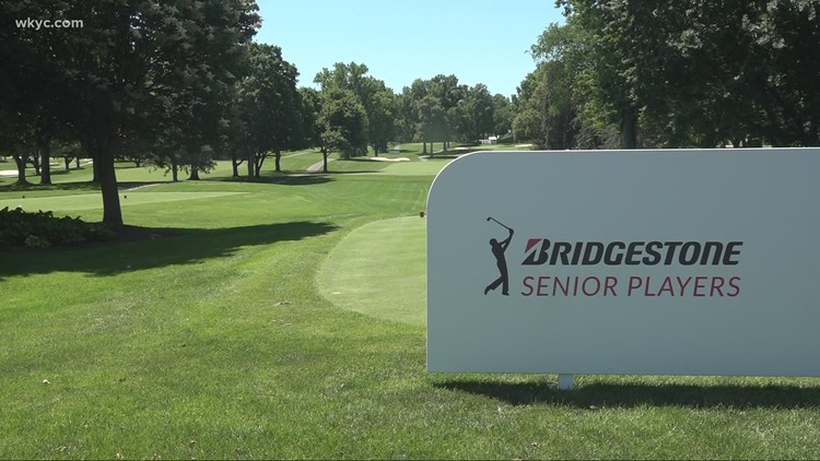 Senior Players Championship returns to Akron with fans, along with concerts and food trucks