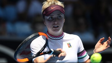 Svitolina beats Keys to reach Australian Open quarterfinals