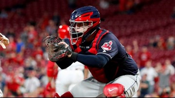Cleveland Indians catcher Roberto Perez wins Wilson Defensive Player of the Year award