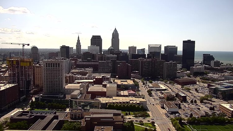 Downtown Cleveland on August 9, 2019